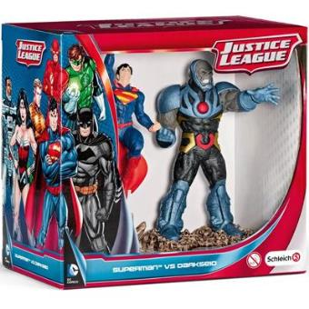 Justice League - Pack Figuras Schleich Superman Vs Darkseid