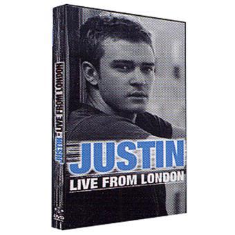 Justin Timberlake - Live From London  - DVD Zona 2