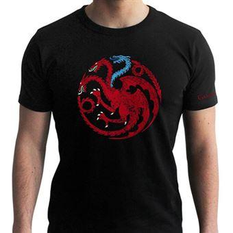 T-Shirt Game of Thrones: Targaryen Viserion - Tamanho S