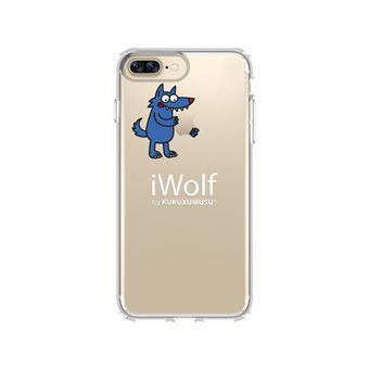 Capa Iphone 7 Plus  Kukuxumusu Transp