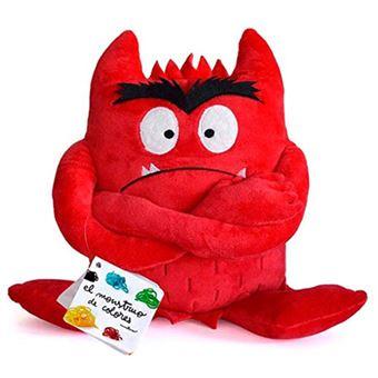 Peluche Monstro das Cores: Vermelho
