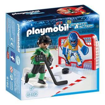 Playmobil Sports & Action 6192 Baliza de Hóquei no Gelo