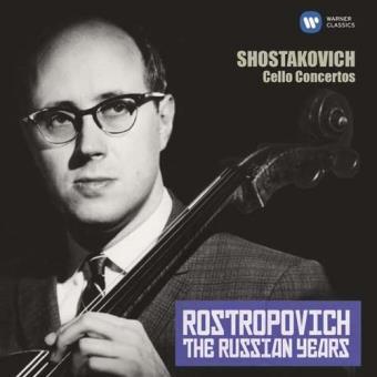 Shostakovich: Cello Concertos The Russian Years - CD