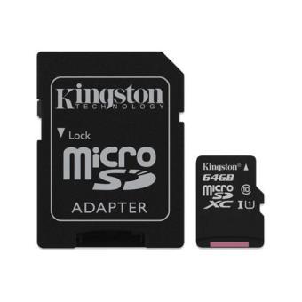 Kingston microSDXC 64GB Classe 10