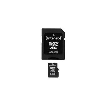 Intenso 64GB MicroSDHC 64GB MicroSDHC Class 10 cartão de memória