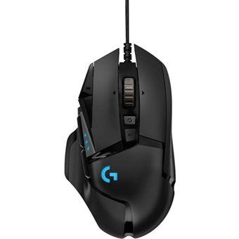 Rato Gaming Logitech G502 Hero - Preto