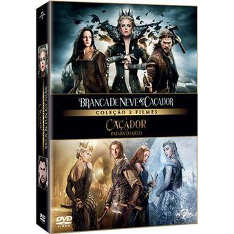 Pack Branca de Neve e o Caçador + Caçador e a Rainha do Gelo - 2DVD