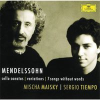 Mendelssohn: Cello Sonatas, Variations Concertantes & 7 Songs without Words - CD