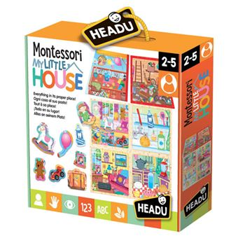 Puzzle Montessori My Little House - Headu