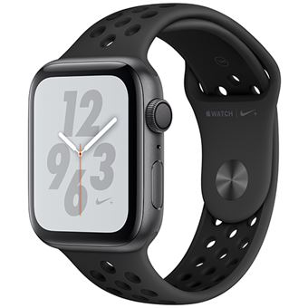 Apple Watch Nike+ Series 4 40mm - Alumínio Cinzento | Bracelete Desportiva Nike - Anracite | Preto