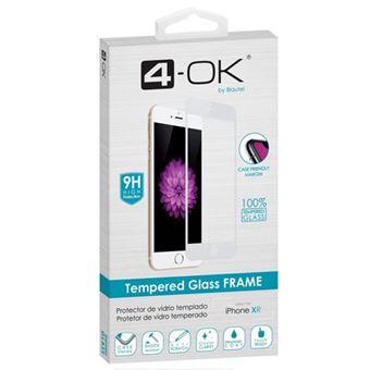 Película Ecrã Vidro Temperado 4-OK para iPhone XR