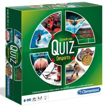 O Grande Jogo Quiz Desporto - Clementoni