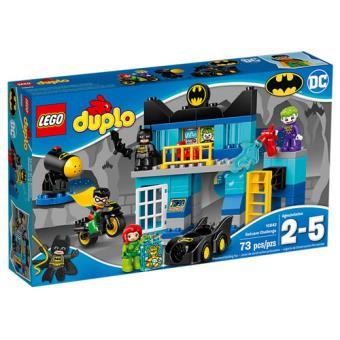 LEGO DUPLO Super Heroes 10842 O Desafio da Batcaverna