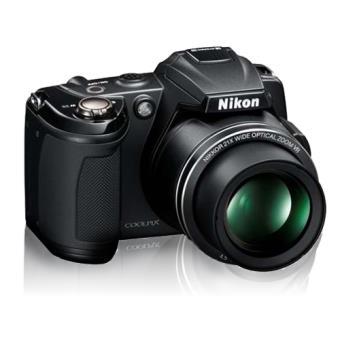 Nikon Coolpix L120 Preta