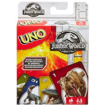 Uno Jurassic World - Mattel