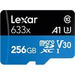 Cartão Memória MicroSDXC Lexar LSDMI256BBAP633 V30 633x - 256GB