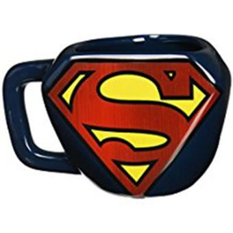 Mug-Superman-Embossed Logo