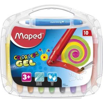 Lápis de Gel Aguarela Color Peps - 10 Unidades