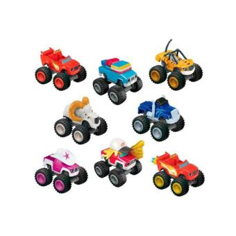 Blaze e as Monster Machines Veículos Metalizados Fisher-Price - Envio Aleatório