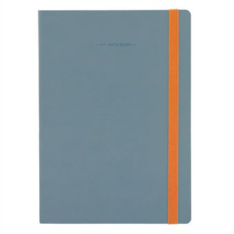 My Notebook Large Liso Grey Legami