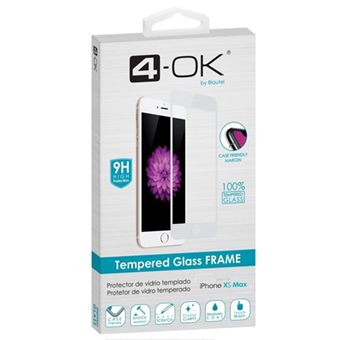 Película Ecrã Vidro Temperado 4-OK Glass FRAME para iPhone XS Max