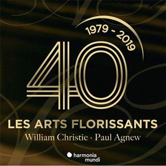 Les Arts Florissants: 40 Ans - 3CD
