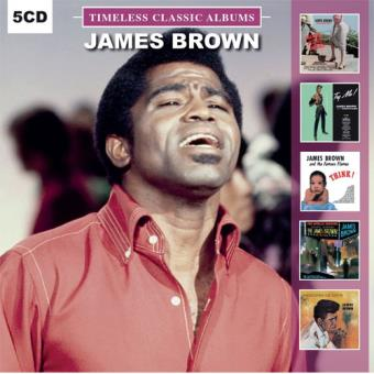 Timeless Classic Albums: James Brown - 5CD
