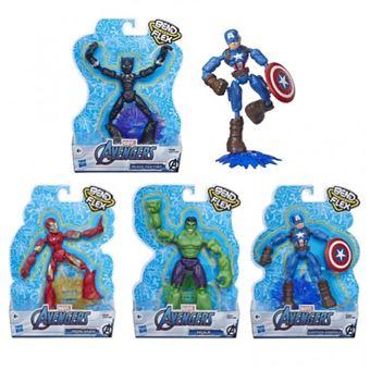 Sortido Figuras Avengers Bend and Flex