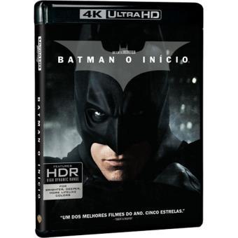 Batman: O Início - 4K Ultra HD