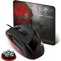 Rato Gaming Spirit Of Gamer Pro-3 + Tapete Rato Spirit Of Gamer