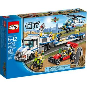 Transportador de Helicópteros (LEGO City Polícia 60049)