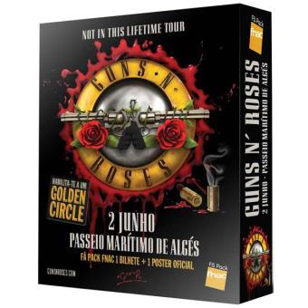 Fã Pack Fnac Guns N' Roses