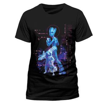 T-Shirt Avengers Infinity War: Neon Groot - Tamanho M