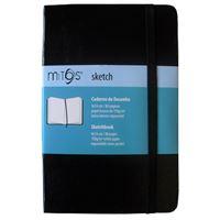 Caderno de Desenho Liso Mitos Sketch A5 Preto