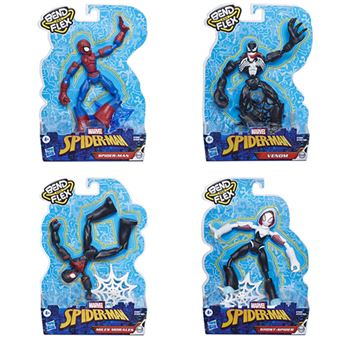 Sortido Figuras Spiderman Bend and Flex