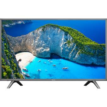 Smart TV Hisense UHD 4K HDR 43N5700 109cm - Preto