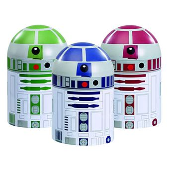 Latas de Cozinha Star Wars: R2-D2 - 3 Unidades
