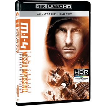 Missão Impossível: Operação Fantasma - 4K Ultra HD + Blu-ray
