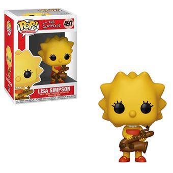 Funko Pop! The Simpsons: Lisa Simpson with Saxophone - 497