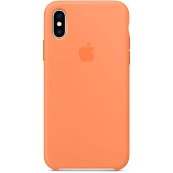 Capa Silicone Apple para iPhone XS - Papaia