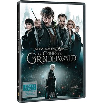 Monstros Fantásticos: Os Crimes de Grindelwald - DVD