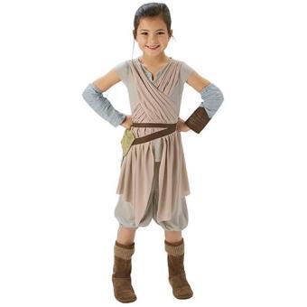 Disfarce Star Wars Ep VII Rey Dlx (Tamanho M 5 a 7 anos)