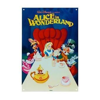 Disney - Poster Metálico Alice in Wonderland