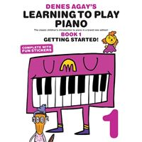 Denes agay's learning to play piano