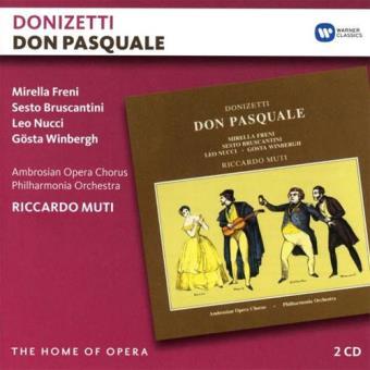Donizetti: Don Pasquale - 2CD