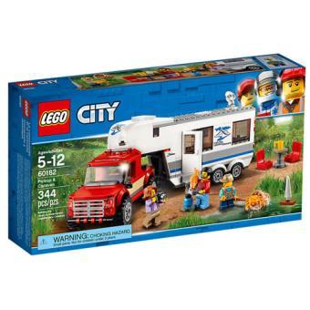 LEGO City Great Vehicles 60182 Pickup e Caravana