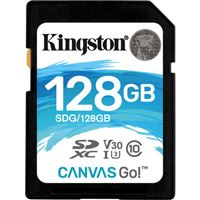 Cartão Micro SD Kingston Canvas Go! SDXC - 128GB - Classe 10