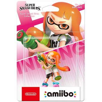 Amiibo Super Smash Bros Inkling Girl