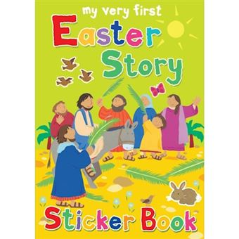 My very first easter story sticker
