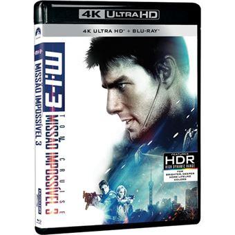 Missão Impossível 3 - 4K Ultra HD + Blu-ray